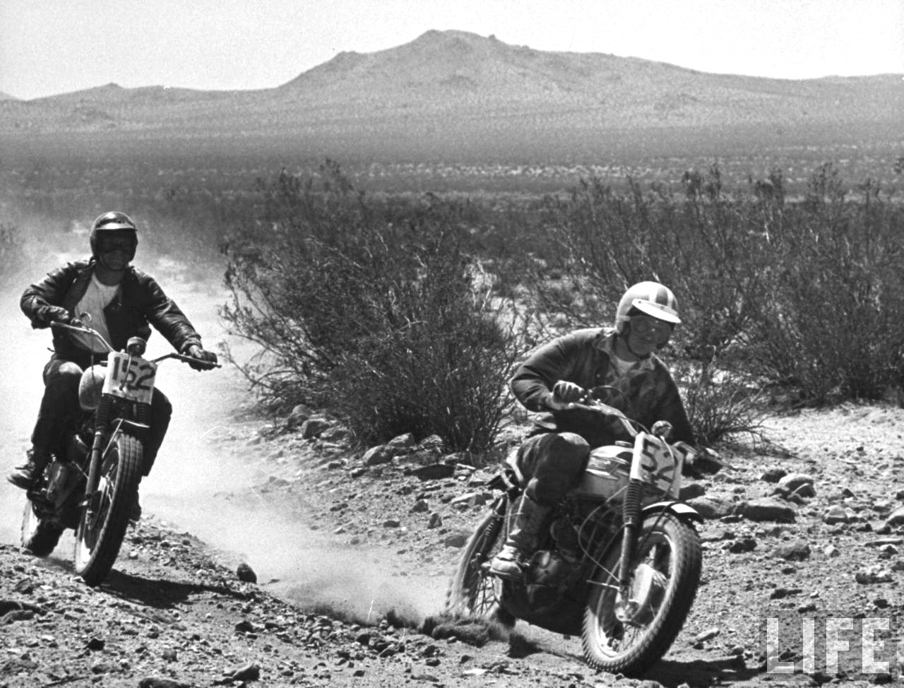 Steve mcqueen starring on any sunday part 9 diablos motorcycle